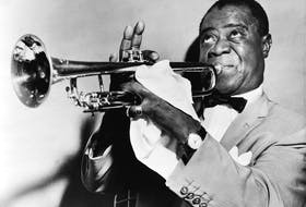 Louis Armstrong (1901-1971). Public Domain