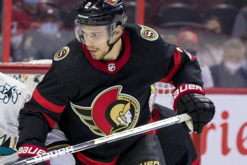 Ottawa Senators defenceman Artem Zub.