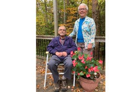 From left to right: Dr. Robert and Wendy McDonald, whose gifts of securities to the QEII Foundation have supported life-saving care at the QEII Health Sciences Centre. PHOTO CREDIT: Contributed