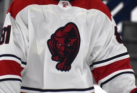 Glace Bay Panthers logo. JEREMY FRASER/CAPE BRETON POST.
