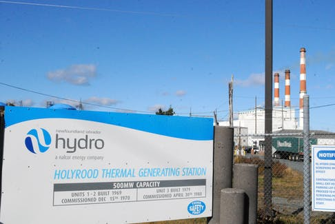 Newfoundland and Labrador Hydro's Holyrood Thermal Generating Station, on Friday, Oct. 22.