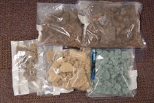 Items seized during the RCMP's Project Barnacle. - Contributed