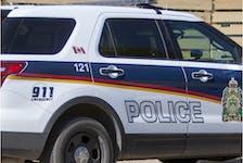 A Saskatoon Police Service vehicle.