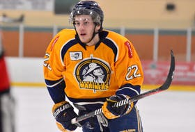 Sam Gillis of Sydney will be the Yarmouth Mariners co-captain this season. SALTWIRE NETWORK