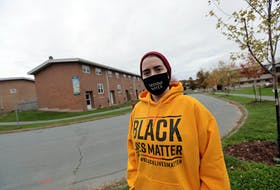 Clark Macintosh, a resident of Ocean Breeze, a housing area in the north end of Dartmouth has residents worried about the future of their community after social media posts.