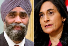 Trudeau has been under pressure to dump Defence Minister Harjit Sajjan over sexual misconduct allegations against senior ranks of the military. That issue will fall to his replacement, Anita Anand, to address.