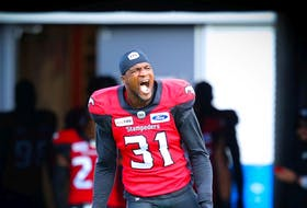Star DB Tre Roberson says he's ready to roll whenever the Stampeders want to insert him into the lineup.