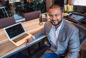Lightspeed Commerce Inc. founder Dax Dasilva in his office on Sept. 15, 2015 in Montreal.