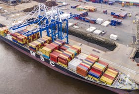 Port Saint John reported a six per cent year-over-year increase in container movement in the New Brunswick harbour during the third quarter, which ended on Sept. 30.