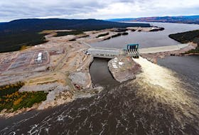 An aerial view of the Muskrat Falls site. - Contributed file photo