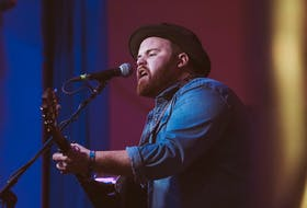 Folk-pop artist Dave Sampson performing during a past Nova Scotia Music Week. He is up for five nominations.