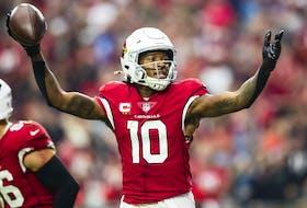 Arizona Cardinals wide receiver DeAndre Hopkins.