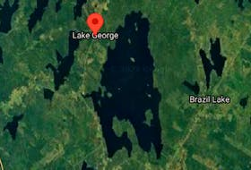 Blue-green algae was discovered in Brazil Lake in early October. GOOGLE MAPS SCREENSHOT