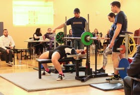 Marion Bridge native Nicole Webber is shown competing at a local event. She will take part in the Eastern Canadian Championship this weekend at the Holiday Inn in Sydney. CONTRIBUTED
