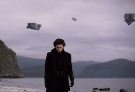 Timothee Chalamet as Paul Atreides in Denis Villeneuve's movie adaptation of the Frank Herbert science fiction classic Dune.