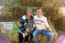 Ty Lucas and his mother, Lisa Lucas, at Hope Valley. — Contributed photo