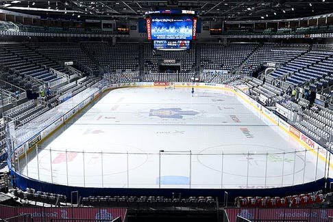 This is the Coca-Cola Coliseum in Toronto will be the Newfoundland Growlers' home rink for at least the next six games, maybe even longer. The building is normally home to the Toronto Marlies, the Growlers' American Hockey League affiliate. — cocacolacoliseum.com