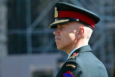 """An alleged victim says the Canadian Forces National Investigation Service refused to accept her complaint against acting Chief of the Defence Staff Gen. Wayne Eyre, pictured, for failing in his """"duty to report"""" sexual misconduct."""