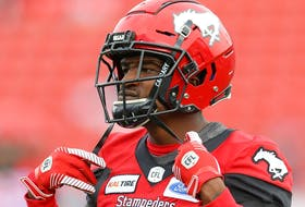 Calgary Stampeders DB Tre Roberson returns to the lineup for Friday's game against the Ottawa RedBlacks.