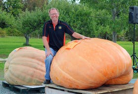 Fred Ansems of Steam Mill won the Great Howard Dill Pumpkin Classic in Windsor on Oct. 2.