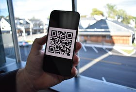 Residents of and visitors to P.E.I. will soon need to present a QR code similar to this as proof of vaccination to enter some businesses and venues, like restaurants, concerts and sporting events.