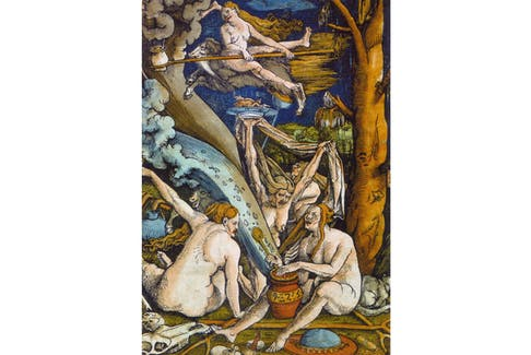 The Witches' Sabbath by Hans Baldung. SaltWire host Sarah Poko speaks to Beth Terry about the history of witches in Canada and how they have evolved from devilish beings to Halloween must-haves.