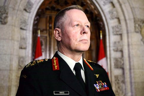 In 2020, then chief of defence staff, retired general Jonathan Vance, ended a military propaganda operation. FILE PHOTO