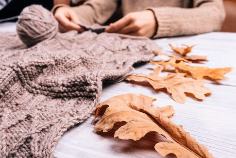 """Knitting is a hobby that people of all ages can enjoy, says Kate Garibaldi. """"From what I've seen, the age range for knitting is very wide - probably from age 10 all the way up to 90."""""""
