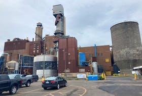 The Northern Pulp plant in Abercrombie, Pictou County.