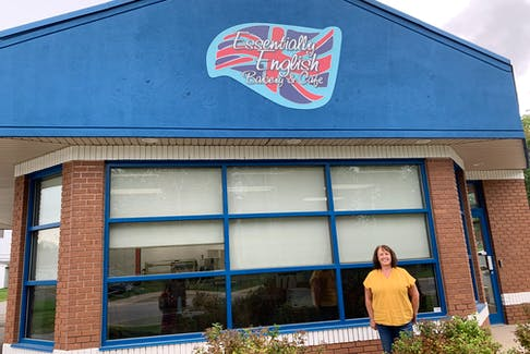 Kate Lander, owner of Essentially English Bakery and Café, is nearly ready to open up shop in Hantsport. She's hoping to welcome customers by the end of October.
