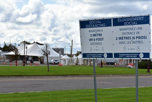 Anyone entering P.E.I. via the Confederation Bridge must continue to go through testing and screening in Borden-Carleton.
