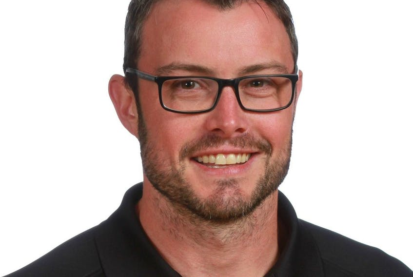 Scott Gouthro was officially named the Cape Breton Eagles goaltending coach on Tuesday.