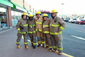 """""""Firefighting is constantly changing, in that we're always looking for ways to approach how to most effectively fight fires,"""" says Sabrina Freund with the Cobequid District Fire Brigade. - Photo Contributed."""