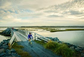Salt Marsh and Shearwater Flyer Trails section of the Trans Canada Trail, Eastern Shore. - Photo Courtesy Discover Halifax.
