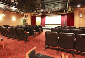 Parkland Truro spaces, like its movie theatre (pictured), are meant to be used by both Parkland community members and people living outside of Parkland in Truro. - Photo Contributed.