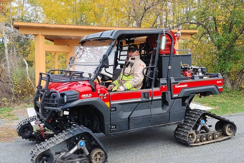 """Since Tatamagouche is the third-largest fire district by square kilometre in Nova Scotia, fire chief Mark Langille says they need to be """"well-equipped"""" to handle various emergency situations. They also have excellent neighboring departments who can assist if required. - Photo Contributed."""