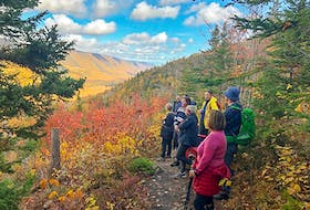 Hike Nova Scotia's fall guided walks include two in the Cape Breton Highlands, such as this one on the Aspy Trail from two years ago. CONTRIBUTED/Hike Nova Scotia