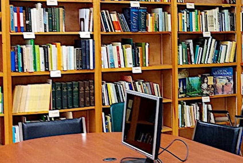 A new Irish library has recently opened at the Irish Cultural Centre in the Benevolent Irish Society building in Charlottetown.