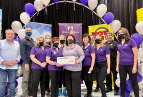 The Cape Breton Regional Hospital Foundation's 14th annual Radio Day radiothon raised more than $600,000 for health and cancer care at the facility on Thursday, Oct. 7.