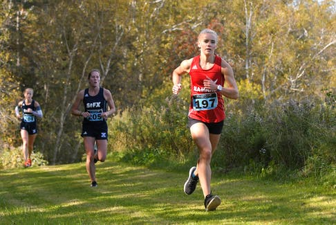 Jade Roberts ran to a silver-medal finish at the Acadia Invitational in Nova Scotia last weekend, helping Memorial to second place in team points at the Sea-Hawks' first competition of the 2020 AUS cross-country season. — File photo vs Memorial Athletics