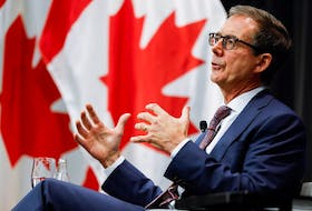 Bank of Canada Governor Tiff Macklem at the Bank of Canada in Ottawa, Oct. 7, 2021.