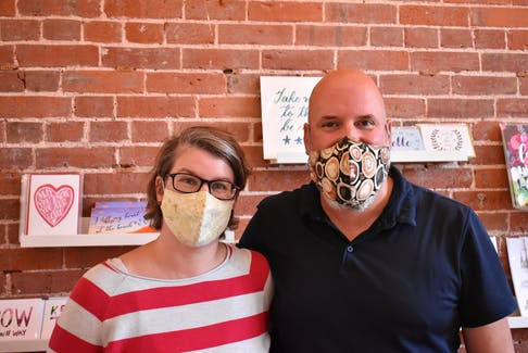 Jessica and Mike Fritz, owners of The Gallery Coffee House & Bistro, are surprised with how well the P.E.I. vax pass has gone so far and are looking forward to a more streamlined process once the QR codes and apps are introduced later in October.