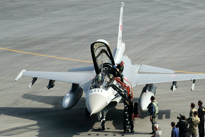 Turkey asks US to buy 40 F-16 jets to upgrade Air Force -sources |  SaltWire