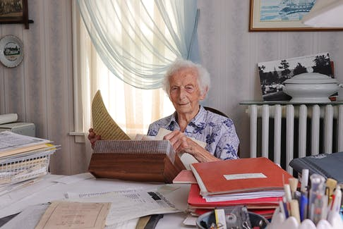 Vangie Way was well known for her genealogical research in Pictou County.