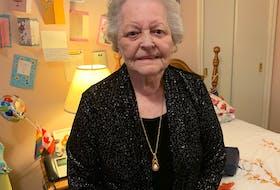 At age 90, Vera Frampton finally got to go to the prom. — Pam Frampton/SaltWire Network