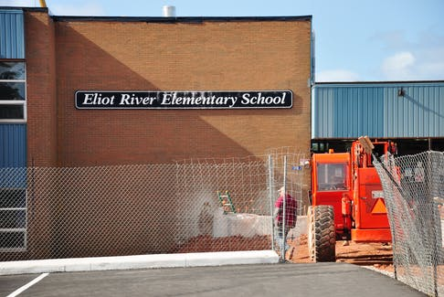 Students at Eliot River Elementary School in Cornwall, as well as Montague Consolidated School in Montague, are getting an early summer as invasive renovation work has pushed the last day of learning back to June 10.
