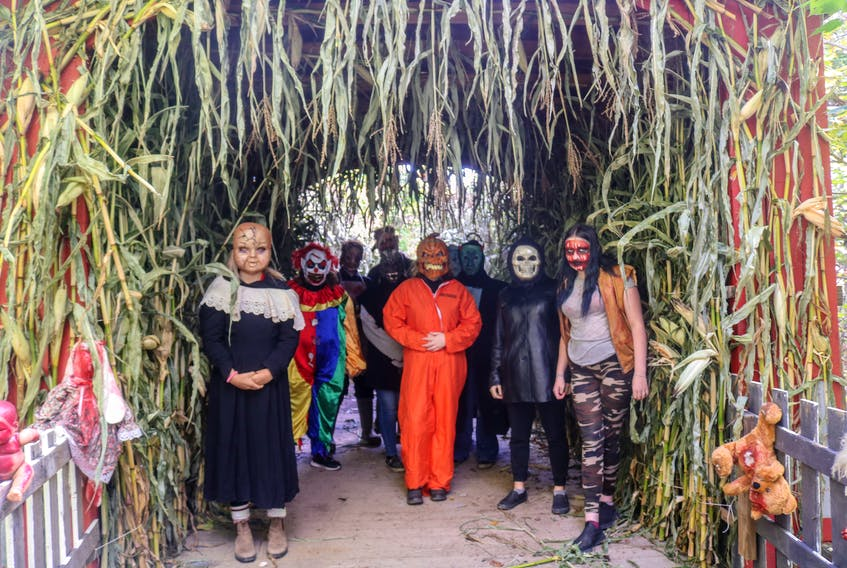 Two Rivers Wildlife Park's Fright Night Halloween event is a fundraiser for the park. JESSICA SMITH/CAPE BRETON POST