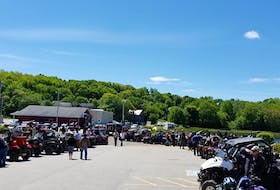Photo from the last Weymouth ATV Appreciation Day in 2019. Close to 90 ATV's attended over a two- day event with people from all over the province attending.