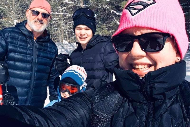 Tara Gillam and family