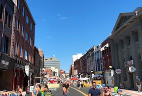 A public survey the City of St. John's conducted on the 2020 downtown pedestian mall found an overwhelming 98 per cent of respondents wanted to see it brought back. — Telegram file photo